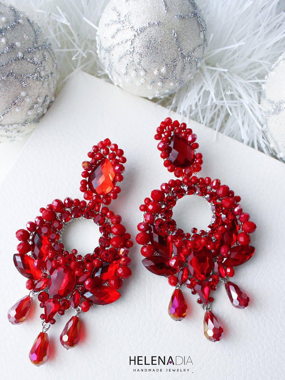 Crystal Earrings 219a